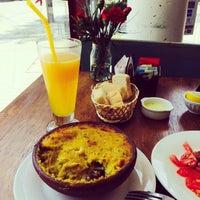 Photo taken at Café Marrón by Yany on 11/18/2014