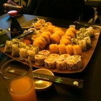 Photo taken at Bonsai Sushi Delivery by Yany on 10/23/2012