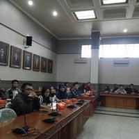 Photo taken at Gedung Rektorat by Inty D. on 9/17/2014