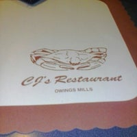 Photo taken at CJ's Restaurant by D.L. K. on 9/30/2012