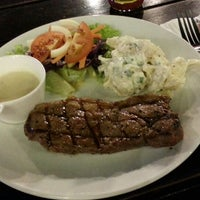 Photo taken at Ayers Rock Butcher & Grill by lexiqa on 9/5/2013