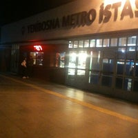 Photo taken at Yenibosna Metro İstasyonu by Erhan Ç. on 10/12/2012