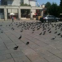 Photo taken at Bakırköy Özgürlük Meydanı by Berkay Y. on 7/21/2013