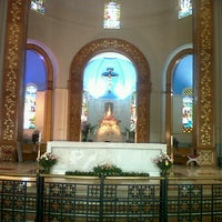 Photo taken at Santuario de la Virgen de Caacupé by Rodrigo M. on 2/12/2013