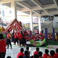 Photo taken at Sekolah Global Mandiri Cibubur by Winda P. on 2/12/2013