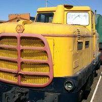 Снимок сделан в Центральный музей Октябрьской железной дороги пользователем Irina D. 4/21/2013