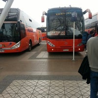 Photo taken at Terminal de Buses Santiago by Geovanni B. on 9/16/2012