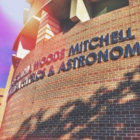 Photo taken at Mitchell Physics Building by Fernando G. on 2/11/2014