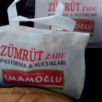 Photo taken at İmamoglu Sucuk-Pastirma by DERYA C. on 1/4/2015