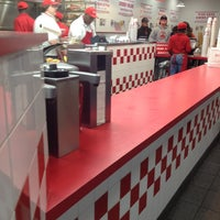 Photo taken at Five Guys by William B. on 2/1/2014