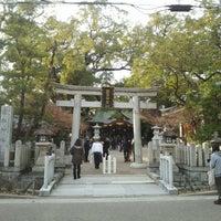 Photo taken at 富松神社 by Yasushi O. on 1/2/2014