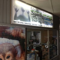 Photo taken at Streeter Concepts Signwriting & Design by Michael W. on 10/9/2012