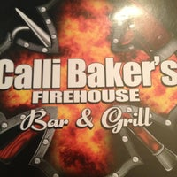 Photo taken at Calli Baker's Firehouse Bar & Grill by Lisa on 6/16/2013