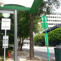 Photo taken at SE 8th St Biscayne Trolley by Bonnie W. on 6/1/2014