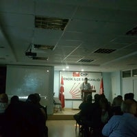 Photo taken at Chp Pendik İlçe Başkanlığı by Sarp Ö. on 10/24/2016