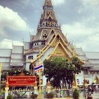 Photo taken at Wat Sothon Wararam Worawihan by Federbrau T. on 6/8/2013