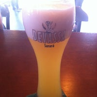 Photo taken at Cervejaria Devassa by Diego U. on 12/15/2012