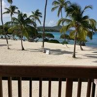 Photo taken at Sapphire Beach Marina & Resort Saint Thomas (Virgin Islands U.S.) by Jeanne F. on 9/21/2012