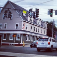 Photo taken at Gorham House of Pizza by DaraLyn on 7/13/2013