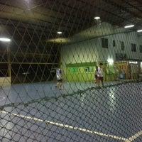 Photo taken at Futsal Centre Tamparuli by Kabashitor U. on 6/21/2013