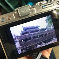 Photo taken at Golden Palace (Shwenandaw Kyaung) Monestary by Yu J. on 5/26/2017