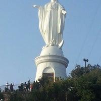Das Foto wurde bei Cumbre Cerro San Cristóbal von Nacho S. am 10/13/2012 aufgenommen
