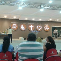 Photo taken at Centro Apostólico Manancial by Luana P. on 11/12/2014