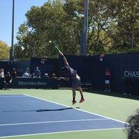 Photo taken at Court 14 - USTA Billie Jean King National Tennis Center by Jimmy F. on 8/30/2017