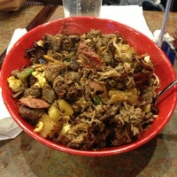 Photo taken at Genghis Grill by Don L. on 1/8/2013