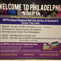 Photo taken at SEPTA Terminal A & B Station by Carl A. on 9/13/2013