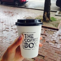 Photo taken at The Coffee Box by неля . on 7/7/2014