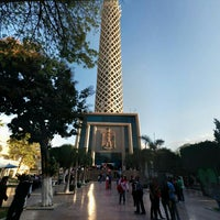 Photo taken at Cairo Tower by Alex أ. on 4/12/2015