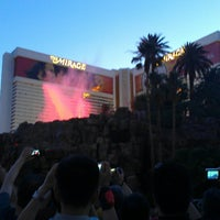 Photo taken at The Mirage Volcano by Francois D. on 6/4/2013