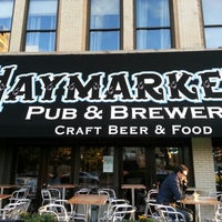Photo taken at Haymarket Pub & Brewery by Pablo M. on 9/18/2012