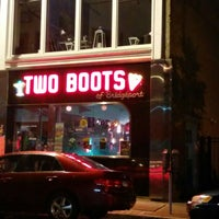 Photo taken at Two Boots by Charles S. on 6/14/2014