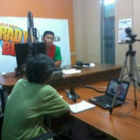 Photo taken at DXMS Radyo Bida by Chris Dave T. on 1/21/2013