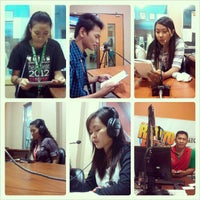Photo taken at DXMS Radyo Bida by Chris Dave T. on 1/14/2013