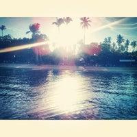 Photo taken at Sunset Resort, Samal Island by Chris Dave T. on 12/26/2013