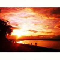 Photo taken at Sunset Resort, Samal Island by Chris Dave T. on 12/25/2013