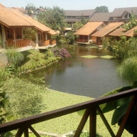 Photo taken at Ahadiat Hotel & Bungalow by Adinda E. on 8/21/2015
