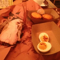 Photo taken at Hill Country Barbecue Market by Jake M. on 4/1/2013