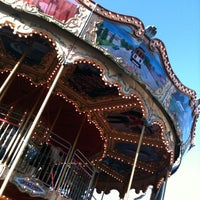 Photo taken at The Carousel at Pier 39 by Courtney B. on 1/27/2013