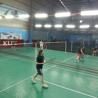 Photo taken at New Vision Badminton Academy by Rin K. on 9/25/2012
