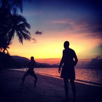 Photo taken at Baan Tai Beach by Cheremnykh E. on 12/29/2012