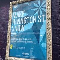 Photo taken at Make Rivington St Snow by Sarah H. on 12/13/2012