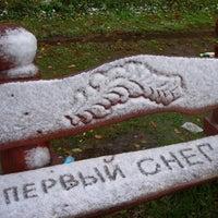 Photo taken at бульвар Нестерова by SSlava on 10/20/2014