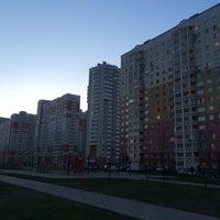 Photo taken at бульвар Нестерова by SSlava on 4/30/2014