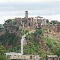 Photo taken at Civita di Bagnoregio by Barbara P. on 5/19/2013