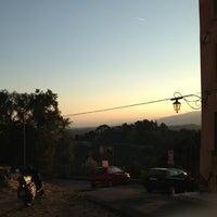 Photo taken at Castello Pretorio by Michele S. on 8/16/2013
