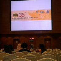 Photo taken at Kl Convention Centre Exhibition Hall 3 by Mohd Yusri M. on 5/8/2013